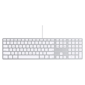 Apple Keyboard Aluminum Wired with Numeric Keypad