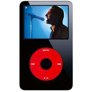 Apple iPod Classic 5th Generation Video 30GB U2 Special Edition